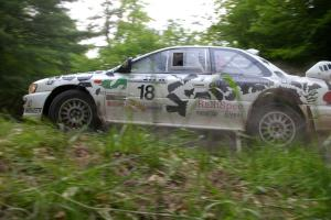 Celsus Donnelly / Noel Gallagher Mitsubishi Lancer Evo 8 almost put