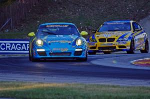 Nick Longhi / Matt Plumb Porsche 997 and Bill Auberlen / Paul Dalla Lana BMW M3 Coupe