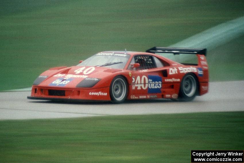 Jean Pierre Jabouille S Ferrari F40 Lm Gto