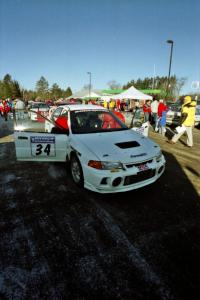 Pete Lahm / Matt Chester purchased the ex-David Summerbell Mitsubishi Lancer Evo IV and debuted the car at Sno*Drift.