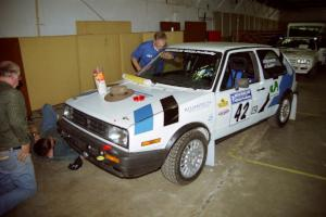 Eric Burmeister / Mark Buskirk VW GTI goes through tech.