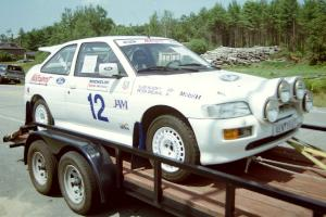 Peter Smejkal / Vlad Hladky Ford Escort Cosworth RS did not compete but was for sale.