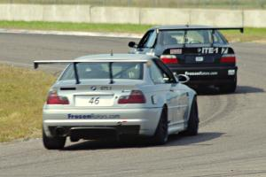 Chris Orr's and Dan Huberty's ITE-1 BMW M3s