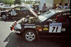 Jay Kowalik / Carl Lindquist Honda Civic CVT (in the back) and Bryan Hourt / Brian Shanfeld Honda Civic