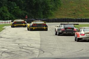 GT battle late in the race
