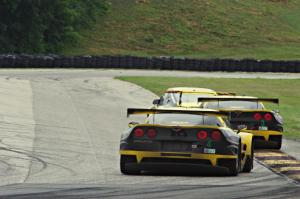 Jan Heylen / Mike Hedlund Porsche GT3 Cup, Antonio Garcia / Jan Magnussen and Tommy Milner / Oliver Gavin Chevy Corvette C6.Rs