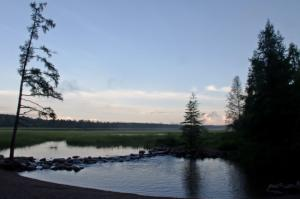 Headwaters of the Mississippi River at Itasca State Park