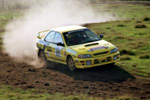 Paul Eklund / Scott Huhn Subaru Impreza on SS11, Ranch Super Special I.