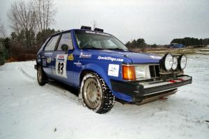 2000 SCCA Pro Rally Group 5 Champions Mark Utecht / Brenda Corneliusen Dodge Omni GLH Turbo