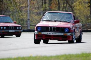 Missing Link Motorsports BMW 325i and Cheap Shot Racing BMW 325is