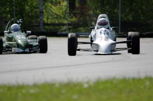 Alan Murray's Swift DB-1 Formula Ford and Dalton Mensink's Red Devil LD Formula 500