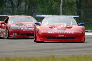 Jim McAleese's Chevy Corvette and Amy Ruman's Chevy Corvette