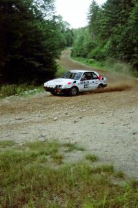 Jeff Field / Dave Weiman Dodge Shadow on SS3, E. Town East.