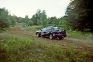 Don Kennedy / Matt Kennedy Subaru Impreza on SS3, E. Town East.
