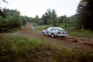 Colin McCleery / Jeff Secor Ford Sierra XR4i on SS3, E. Town East.
