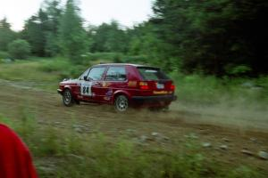 J.B. Niday / Diane Sargent VW GTI on SS3, E. Town East.