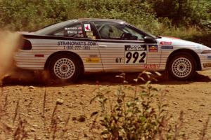 Bruce Perry / Phil Barnes Eagle Talon TSi on SS6, Parmachenee East.