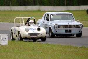 Duane Otness' Austin-Healey Sprite and Gary Davis' Dodge Dart