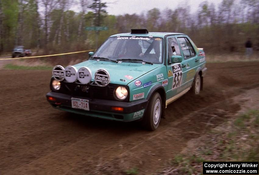 Larry Warrington Steffen Rampelberg Drift Their Vw Jetta