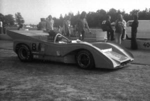 Jerry Grant's US Racing Mclaren M8F