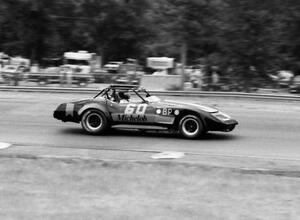 Roger Blink ran in GT-1 in his Chevy Corvette