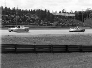 A pair of Ocelot Sports 2000s: John Bonnett leads John Cahill