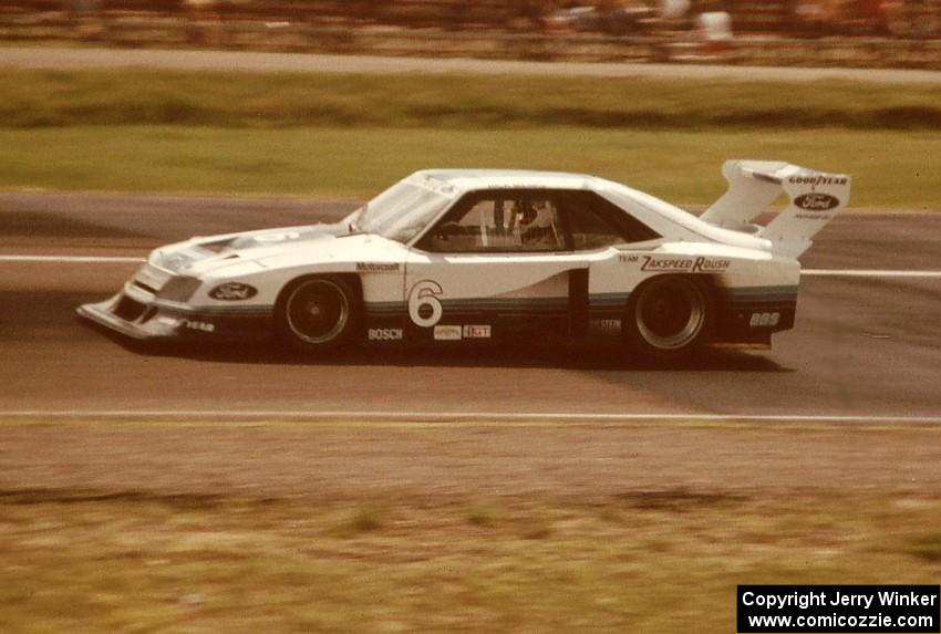 Mustang IMSA Ford Motorsport 82IMSA-78