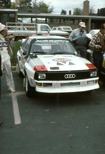 The John Buffum / Tom Grimshaw Audi Sport Quattro at Parc Expose.