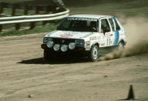 Guy Light / Jimmy Brandt in their P class VW GTI.