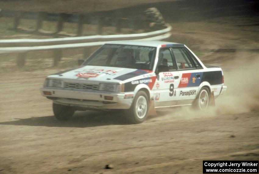 Chad DiMarco / Ginny Reese in their Subaru 4WD Turbo.