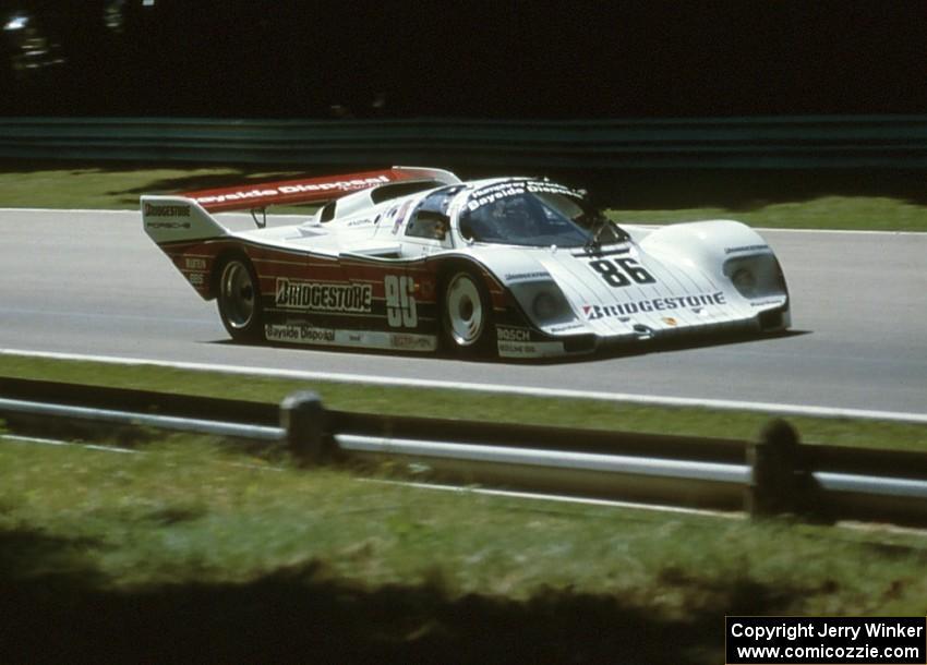 Bruce Leven Paolo Barilla Porsche 962