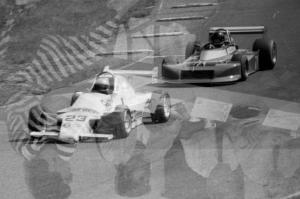 ???'s ??? Formula Continental leads Mike Leary's March 79B Formula Atlantic through turn 9.