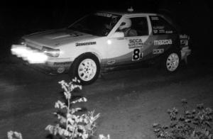 1988 SCCA Ojibwe Forests Pro Rally