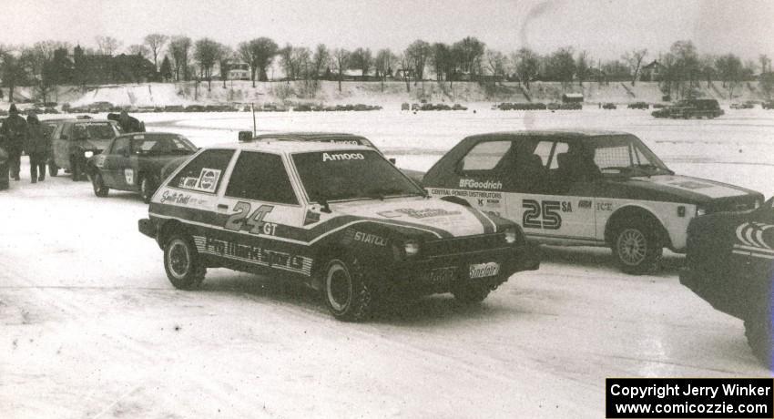 Mark Olson / Curt Sell Dodge Colt Turbo; Jerry Orr / Mark