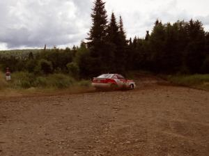 Demetrios Andreou / Ron Norton Audi S2 Quattro on SS7 (Parmachenee East)