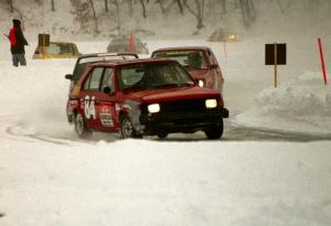Dave Hogan / John Zmuda Dodge Omni, Bill Jaap / Rob Edwards VW Rabbit and