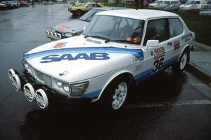 Sandy Liversidge / Boyd Smith in their Gr.A SAAB 99.