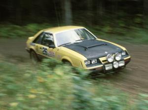 Don Rathgeber / Cindy Krolikowski in the Hairy Canary Ford Mustang.