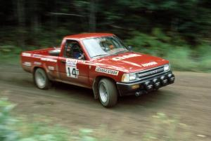 Gary Gooch / Judy Gooch in their Toyota Pickup.