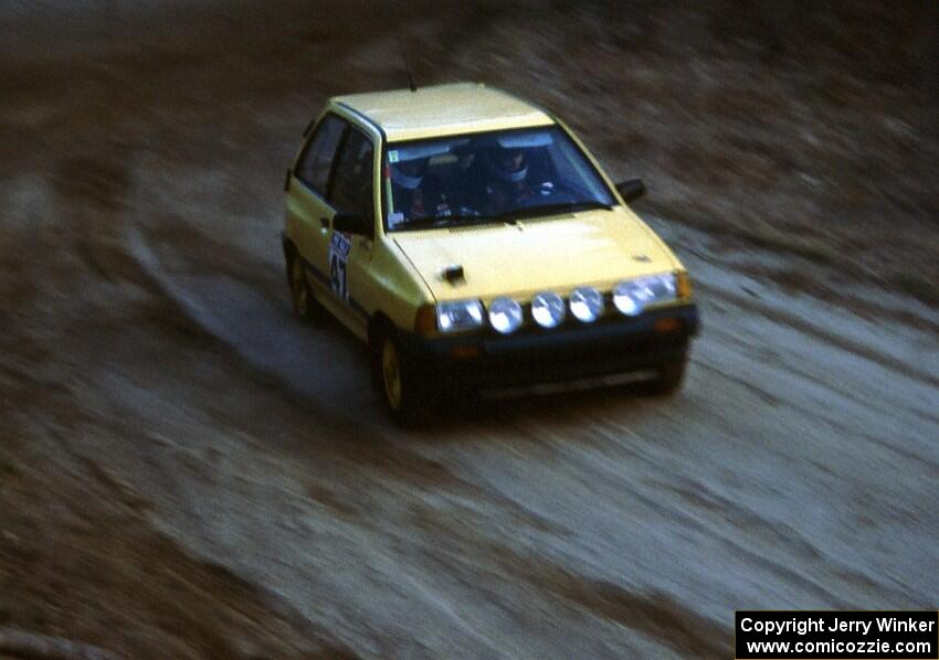 The Ken Cashion Robert Isaac TAD Built Ford Festiva Was Final Finisher In Eleventh