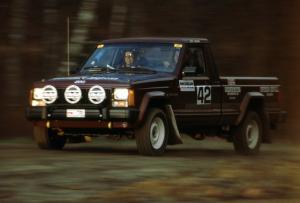 Scott Carlborn / Dave Dewald were ninth overall, fifth in O4, in their Jeep Comanche.