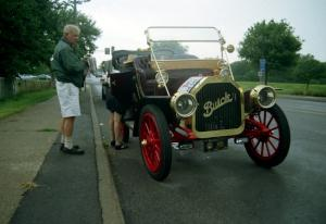 Philip Bray's 1910 Buick was a DNF