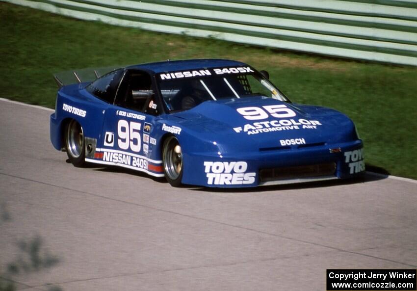 Bob Leitzinger Chuck Kurtz Nissan 240sx Gtu