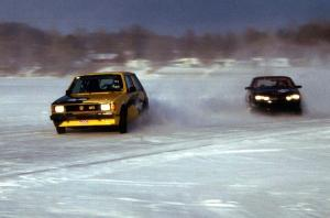 Jeff Burk / Mike Gardner VW GTI and Lyle Nienow / Mark Nienow Chevy Cavalier Z-24