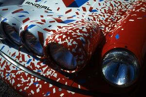 Detail of the Jeff Zwart / Martin Headland Porsche Carrera 4.(1)