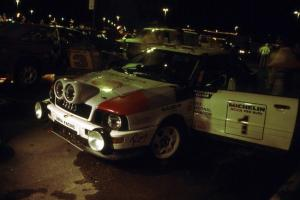 The Paul Choinere / Jeff Becker Audi Quattro S2 gets serviced in Mahnomen.