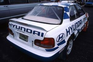 The Paul Choiniere / Jeff Becker Hyundai Elantra at parc expose. (2)