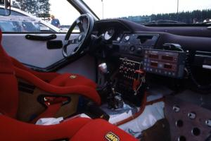 Interior of the Jeff Panton / Rudy Meikle Toyota Celica GT-4 at parc expose.
