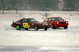 Jerry Winker / Paul Richardson Mazda RX-7 and Don Coatsworth / Mike Rappa VW Fox