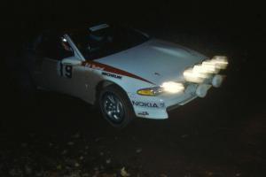 Steve Gingras / Bill Westrick were 3rd overall, and PGT class winners, in their Mitsubishi Eclipse.